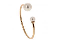 Bracelet - Perles d'eau douce, or rose